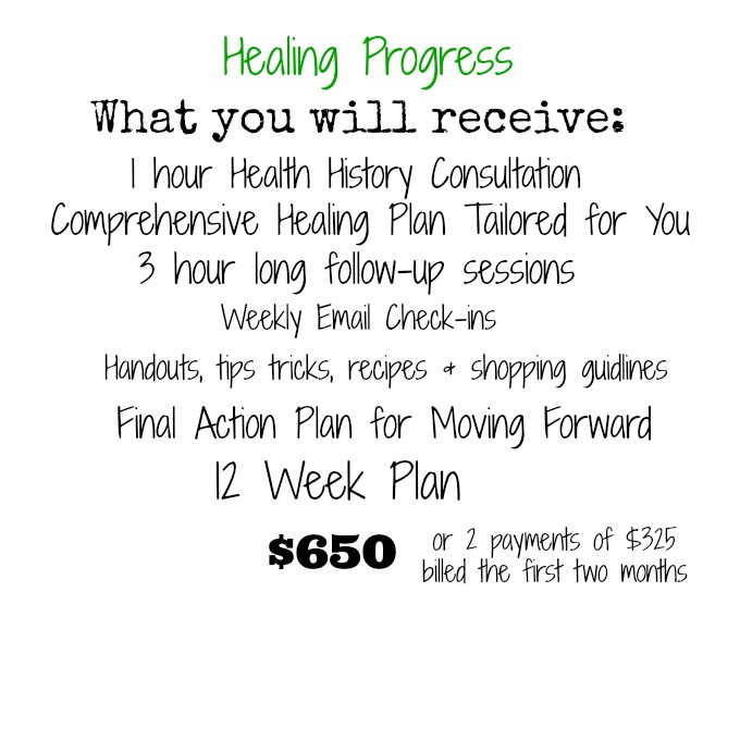 Healing Progress Nutritional Therapy