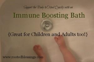 Immune Boosting Bath