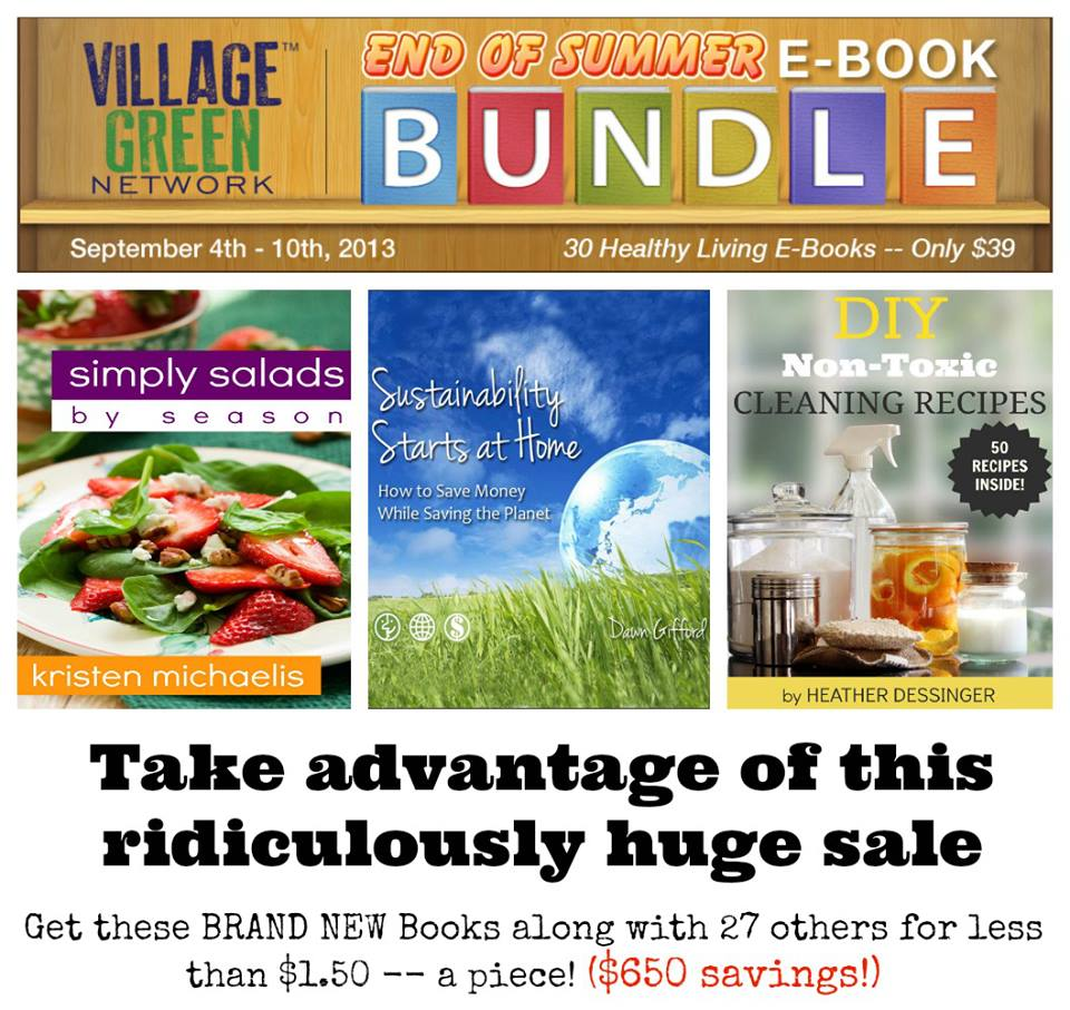Real Food Ebook Sale