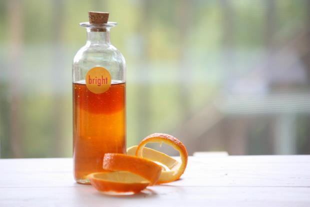 sweet orange and honey