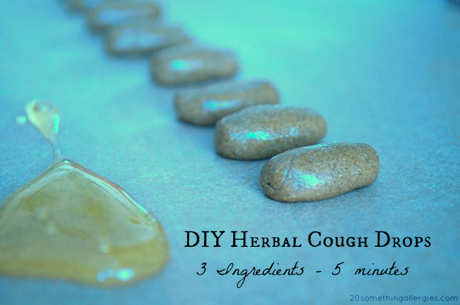 DIY Natural Cough Drops