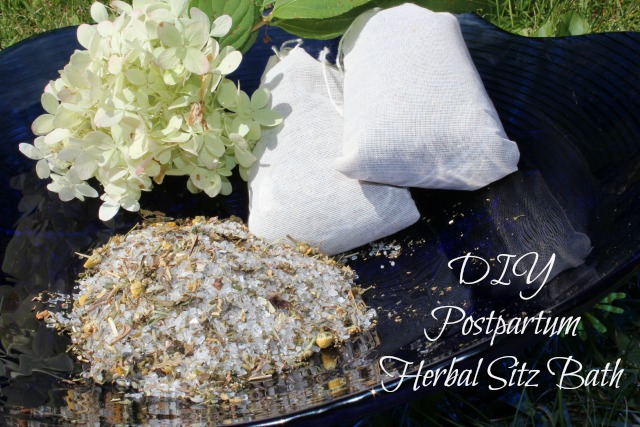 Postpartum Herbal Stiz Bath