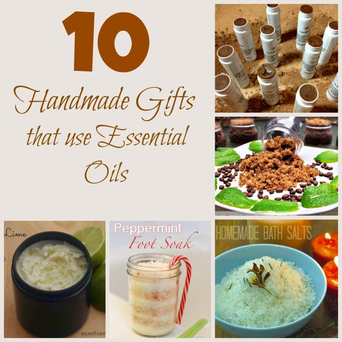 10 Handmade Gifts that Use Essential Oils