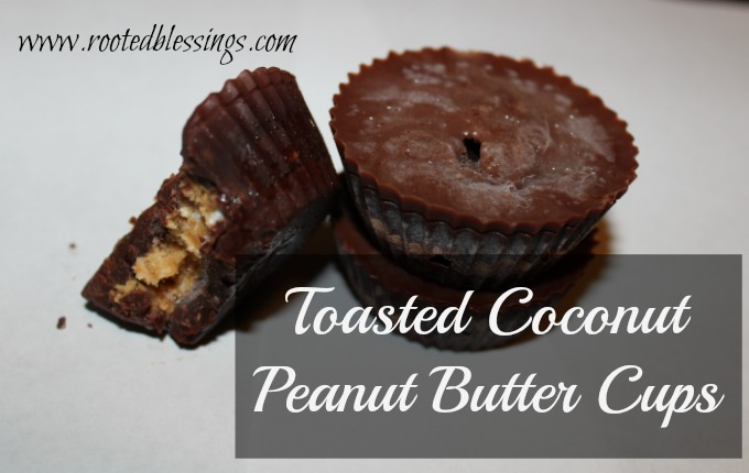 Toasted Coconut Peanut Butter Cups