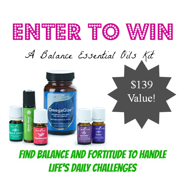 Enter to Win a Balance Essential Rewards Kit