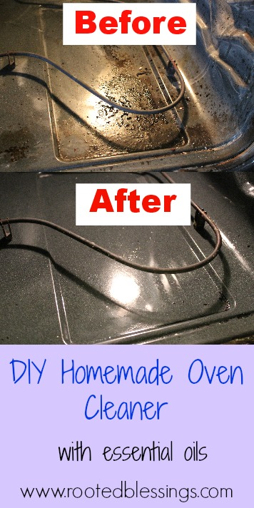 how to clean an oven with oven cleaner