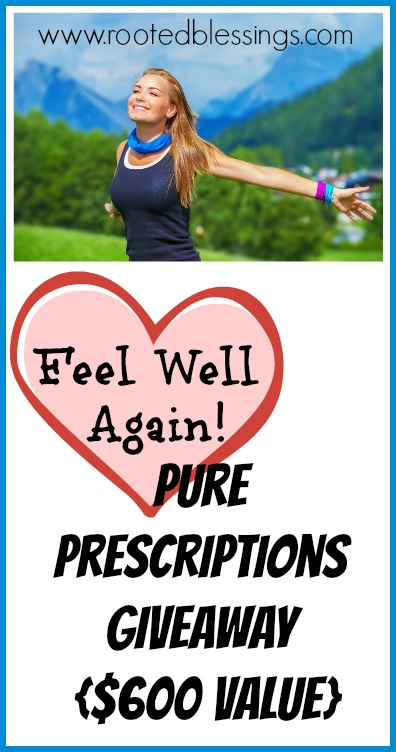 Pure Prescriptions Giveaway $600 Value #healthyliving #realhealing #healthy