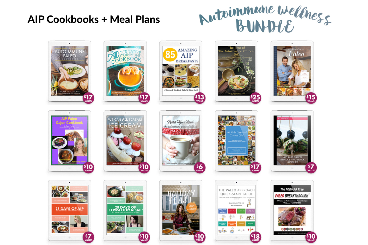 AIP Cookbooks and Meal Plans