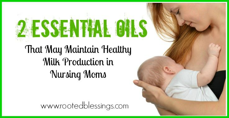 Essential Oils for Nursing Moms