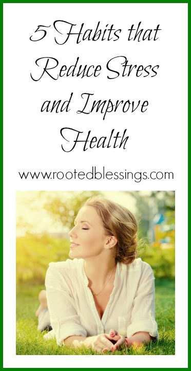 Reduce Stress and Improve Health